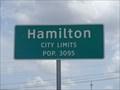 Image for Hamilton, TX - Population 3095