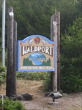 Image for Welcome Sign - Waldport, Oregon