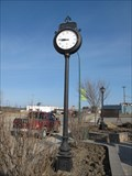 Image for Rocky Mountain House Alberta Centennial Park Clock - Rocky Mountain House, Alberta