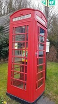 Image for Red Telephone Box - The Square - Shearsby, Leicestershire