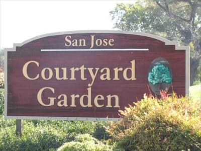 Courtyard Garden, San Jose, CA