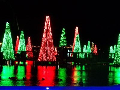 Lord Abercrombie visited Christmas - SeaWorld - Florida. USA.