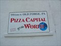 Image for Welcome to Old Forge, PA -- Pizza Capital of the World!