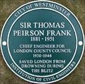 Image for Sir Thomas Peirson Frank - Victoria Tower Gardens, London, UK