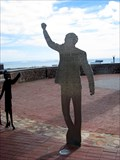 Image for Nelson Mandela Voting Line Sculpture - Port Elizabeth, South africa