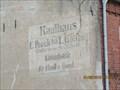 Image for Historische Wandwerbung »Kaufhaus E. Peeck« (1915) – Crivitz, Germany