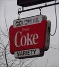 Image for Coke Sign - Harrow, Ontario