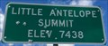 Image for Little Antelope Summit - Elevation 7438 feet
