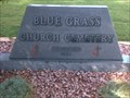 Image for Blue Grass Church Cemetery - McCutchenville, IN