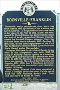 Image for Boonville / Franklin