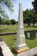 Image for Andrew Jackson Hitchcock - I.O.O.F. Cemetery - Denton, TX