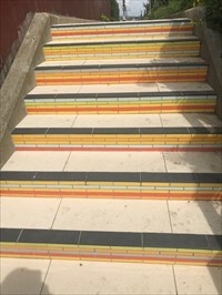 Top Tiled Section, San Francisco, California