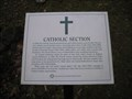 Image for Catholic Section - Jacksonville Cemetery - Jacksonville, Oregon