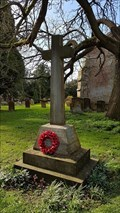 Image for Memorial Cross - All Saints - Leamington Hastings, Warwickshire