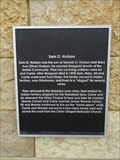 Image for Sam O. Hudson - Flower Mound Heritage Walk - Flower Mound, TX