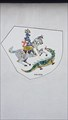Image for Knight and dragon mosaic - Urmitz/Rhein, Rhineland-Palatinate, Germany