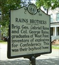 Image for Rains Brothers, Marker C-66