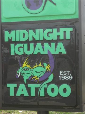 Midnight iguana athens ga tattoo shops parlors on for Tattoo shops in georgia