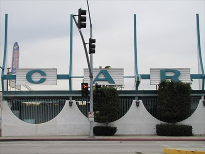 Jet Car Sign, Inglewood, CA