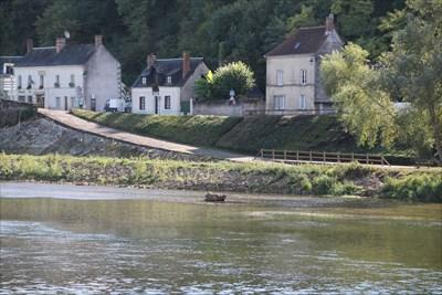Un tronçon intéressant au point de vue réalisation du circuit de la Loire à vélo