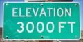 Image for Highway 190 - Furnace Creek CA - 3000'
