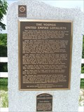 "Image for ""THE YOUNGS UNITED EMPIRE LOYALISTS"" - Historic Plaque"