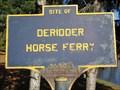 Image for Deridder Horse Ferry - Schuylerville, NY