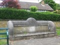 Image for Stone Seat with Plaque - Church Way, Thorpe Malsor, Northamptonshire, UK