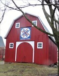 Image for Patriotic Barn - Clinton, Michigan, USA.