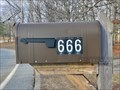 Image for 666 mailbox - Woonsocket, Rhode Island