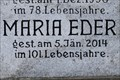 Image for 100 - Maria Eder - Wien, Austria