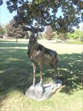 Image for Bronze Deer - Riverhurst Cemetery, Endwell, NY