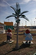 Image for Electric Palm Trees at the Galaxy Drive-In -- Ennis TX