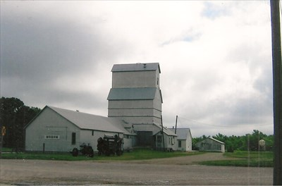grain elevator and mill, now a museum