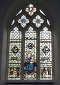 Image for Stained Glass, St Mary's Church, North Mymms, Herts, UK