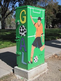 Soccer Theme, SW & SE  Side, San Jose, CA