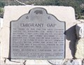 Image for Emigrant Gap