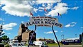 "Image for ""You Are Now Entering The World Famous Alaska Highway"""