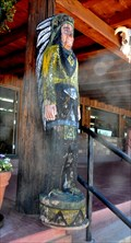 Image for Twin Rocks Trading Post Cigar Store Indian #1 ~ Bluff, Utah