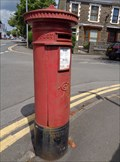 Image for Victorian Pillar Box - Gnoll Avenue - Neath, Wales.
