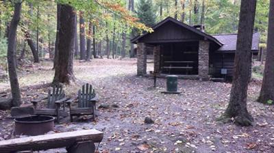 cabin no 6 linn run state park family cabin district