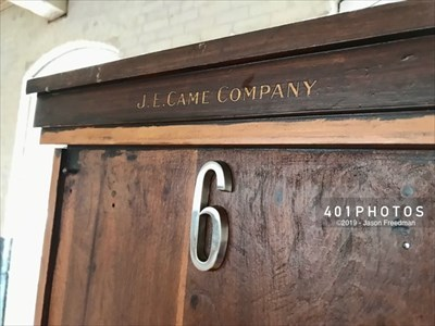 DETAIL: J.E. Came Company Manufacturers - Boston, Mass.