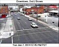 Image for Second Avenue at Browne Street Webcam - Spokane, WA