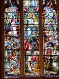 Image for Christ in Glory - Stained Glass Window - Holy Trinity Church - Llandudno, Wales, Great Britain.
