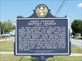 Image for First African Baptist Church - Columbus, Georgia