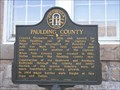 Image for Paulding County State Historical Marker