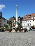 "Image for Obelisk ""Prince-Luitpold-Fountain"" - 95326 Kulmbach/germany/BY"