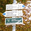 Image for Rozcestník turistických tras - Kamenné Žehrovice, CZ