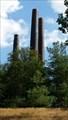 Image for Three lonely chimneys near Braubach - Germany - Rhineland/Palantine