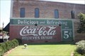 Image for Coca-Cola Sign-Restored-New Albany, MS